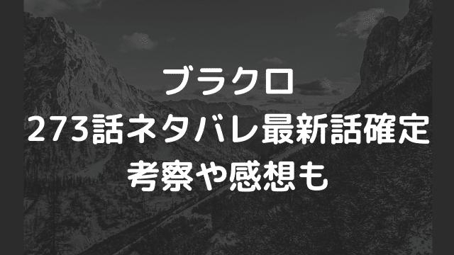 ブラクロ273話ネタバレ最新話確定【ユノとアスタの修行がクライマックス!?オールスターで決戦へ!】